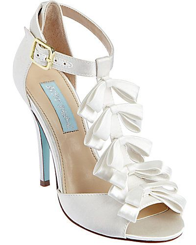 Escarpins En Gros-grain à Noeuds Mary 100 Par Jimmy Choo - BlancOff-white