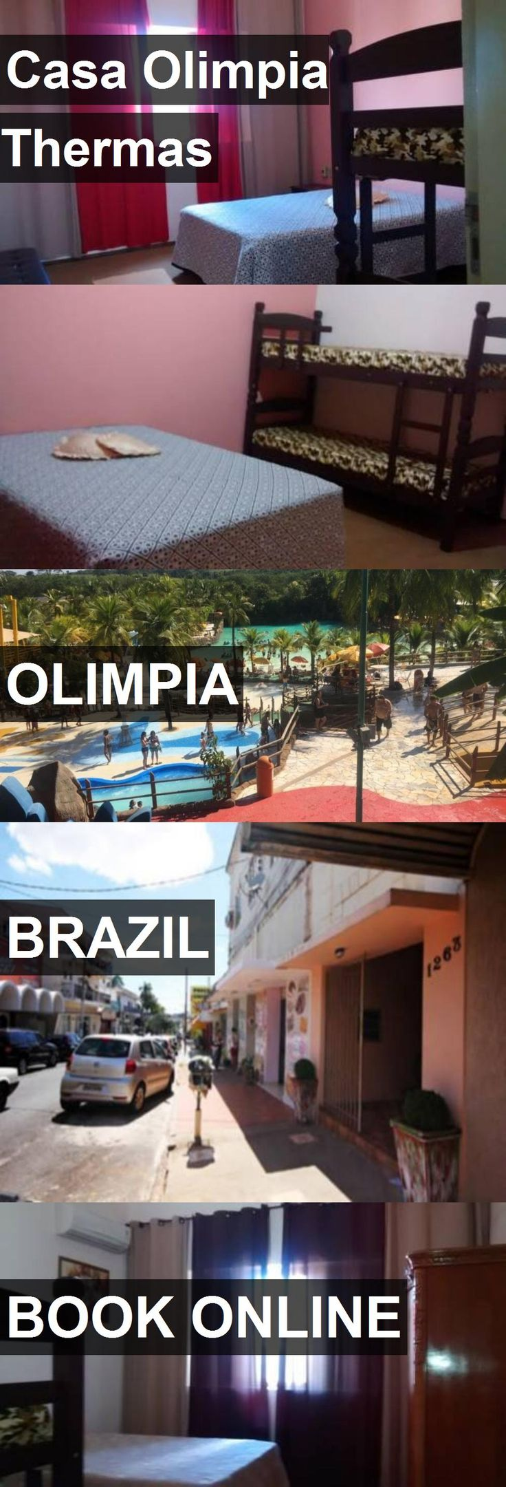 Hotel Casa Olimpia Thermas in Olimpia, Brazil. For more information, photos, reviews and best prices please follow the link. #Brazil #Olimpia #travel #vacation #hotel