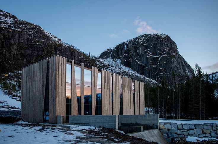 Øvre Forsland Power Station | Architect Magazine | Kebony, Helgeland, NORWAY, Industrial, New Construction, Exteriors, Outdoor