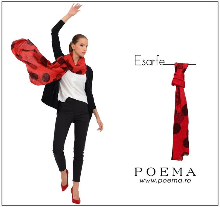 Esarfe colorate POEMA http://shop.poema.ro/poemashop