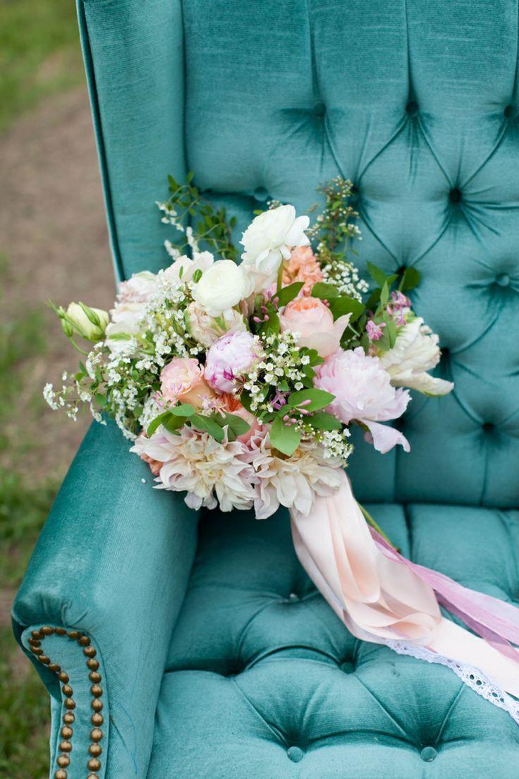 Цвет свадьбы: прохладный бирюзовый