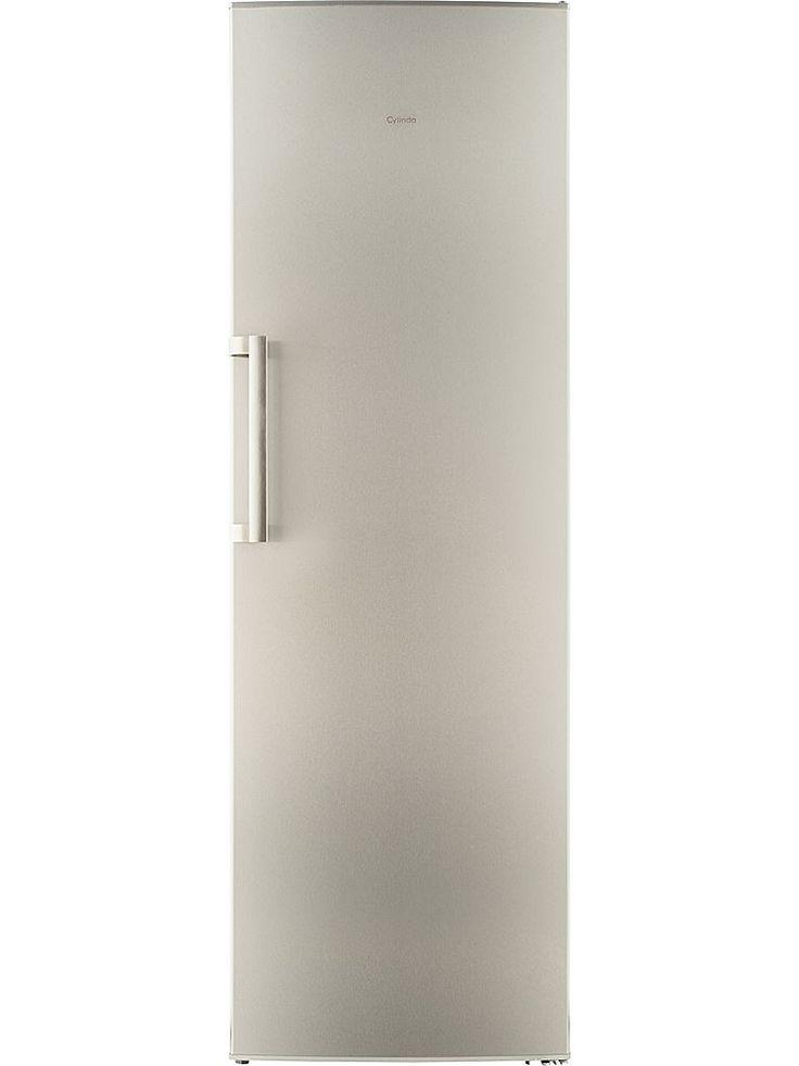 Cylinda K2285 RF-H - Rostfritt kylskåp levereras högerhängd.