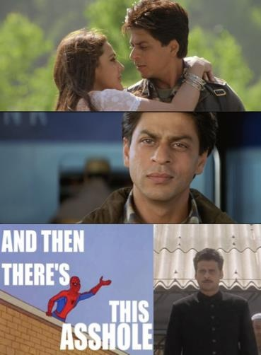 And that pretty much sums up Veer Zaara.