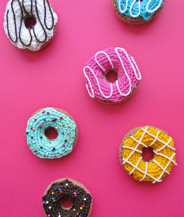 Donuts de Punto / Crochet Donuts