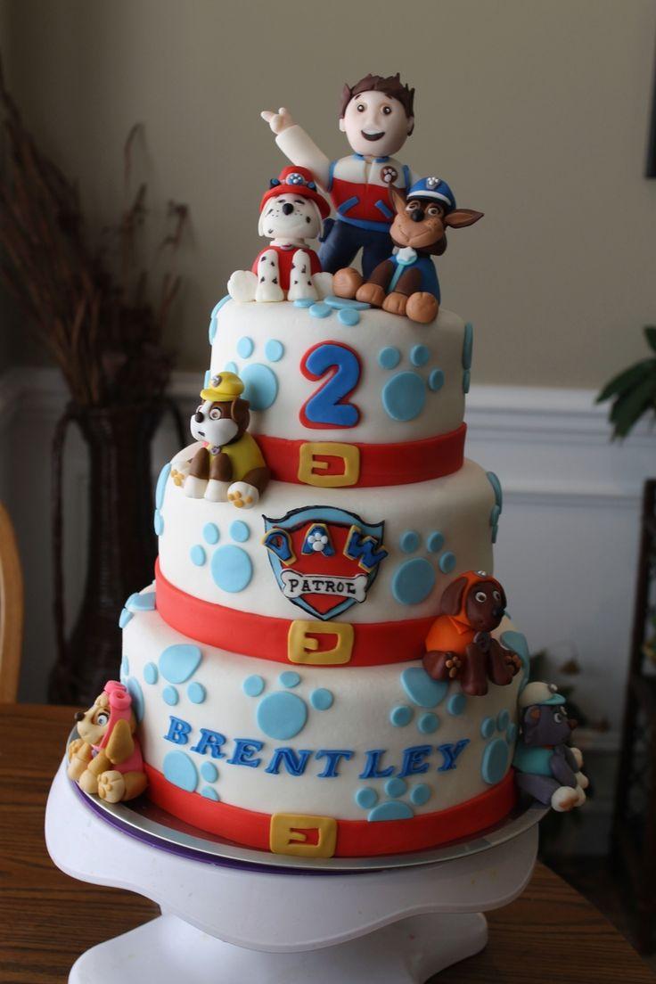 Paw Patrol Austin S 3rd Birthday Paw Patrol Cake