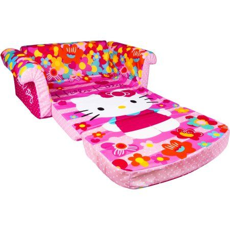 Ikea Sofa Bed Marshmallow Furniture Children us in Flip Open Foam Sofa Hello Kitty by Spin Master