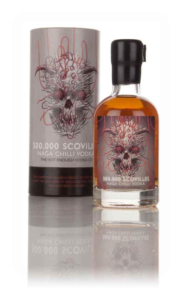 500,000 Scovilles Naga Chilli Vodka 20cl - Master of Malt