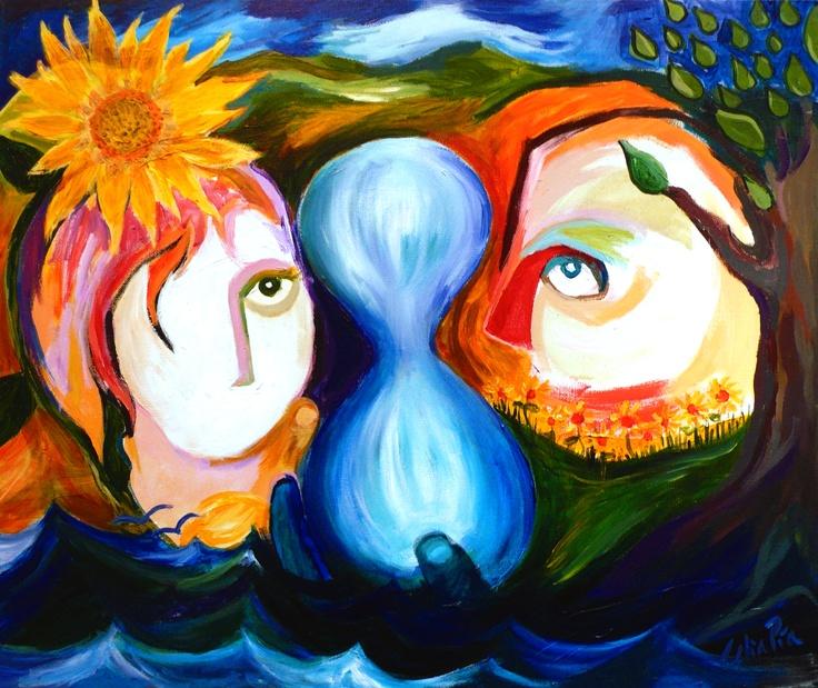 Recopilación de mi recorrido en la expresión a través de la pintura, el dibujo, la ilustración. La expresión como forma de vida, el hecho de comunicarse, como camino. Fluir entre  los colores y el sonido, ser río y evolucionar, escuchar, reconocer, buscar en lo desconocido, reencontrar en lo viejo, deshacerse de lo innecesario. Mezclarse, descontextualizarse, ordenarse y desordenarse, abrir la mente cerrando los ojos, abrir los ojos Y acallar la mente, ser, estar, dar y recibir sin miedo…