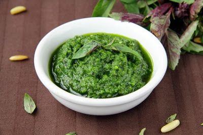 Vegetariancook: Быстрое и простое веганское песто