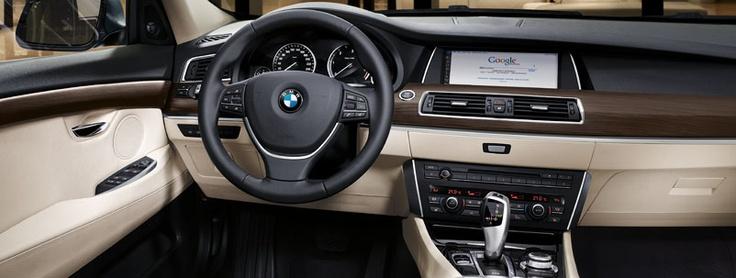 BMW 5 Series Gran Turismo Interior