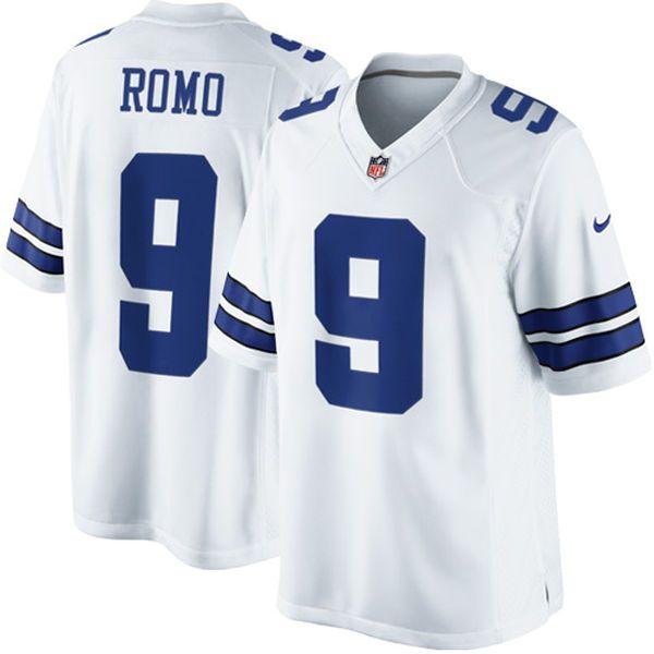 Tony Romo Dallas Cowboys Nike Limited Jersey - White - $149.99