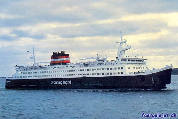 Dronning Ingrid, Korsør Nyborg 80-97