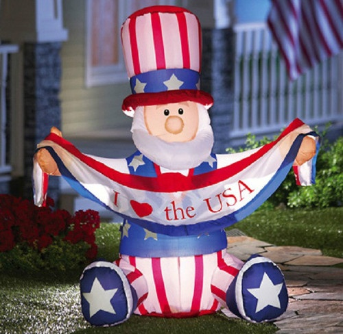 Outdoor Christmas Blow Up Decorations Clearance