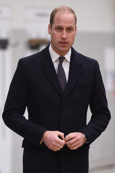 Prince William, Duke of Cambridge visits Bombardier Transportation where he looked at Crossrail carriage assembly lines for trains destined to run on the Ellizabeth Line on November 30, 2016 in Derby, England.  The Duke also test drove a train, and met manufacturing, welding and painting apprentices.