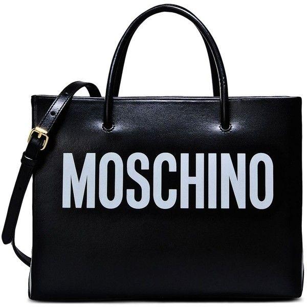 Moschino Handbag ($720) ❤ liked on Polyvore featuring bags, handbags, shoulder bags, moschino, black, handbags shoulder bags, handbags purses, hand bags, man bag and moschino handbags