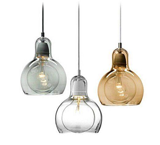 Fresh H ngeleuchte Pendelleuchte Klein Glas Transparent H ngelampe Decke Pendel Lampe Esszimmerlampe H ngend Modern Urban Innen Dining Essplatz