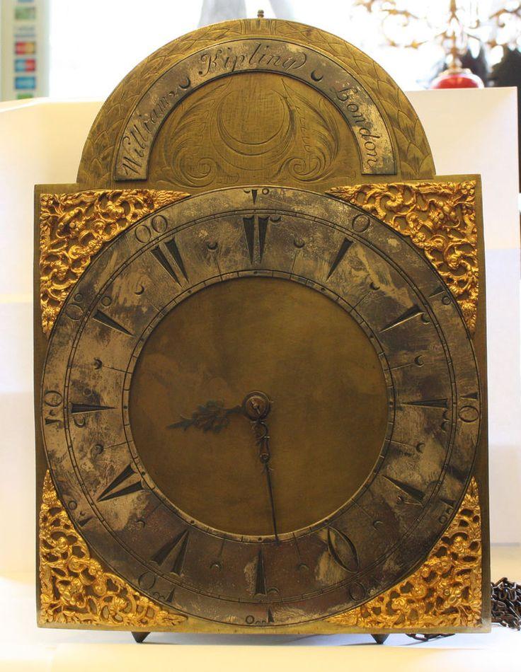 Antique English  Clock by William Kipling, London c.1725 Turkish Market