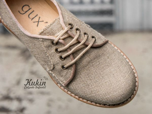 31816e3f7 blucher-comunion-niño zapatos-ceremonia-lino calzado infantil - zapatos  comunion niño