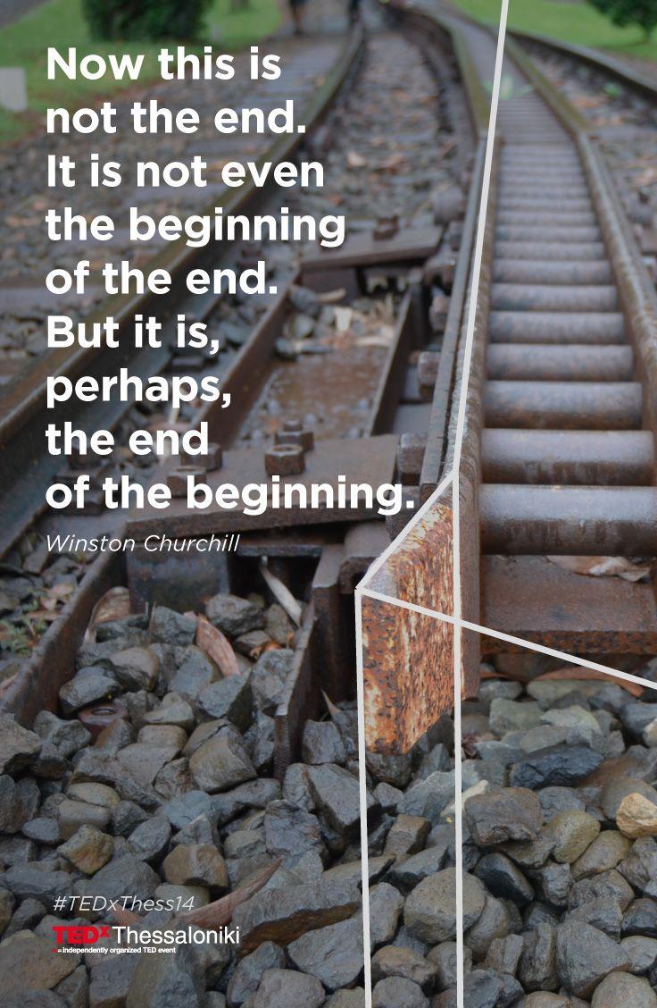 Πολλές φορές ένα διαφαινόμενο τέλος μπορεί να είναι απλά η αρχή της διαδρομής! Οι αιτήσεις συμμετοχής και οι αγορές εισιτηρίων για το #TEDxThess14 συνεχίζονται. Γίνετε μέρος της εμπειρίας στις 10 Μαΐου συμπληρώνοντας τώρα τη φόρμα συμμετοχής στο www.tedxthessaloniki.com