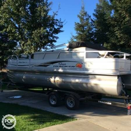 **~ LIKE NEW PARTY BARGE WITH TRAILER! **~