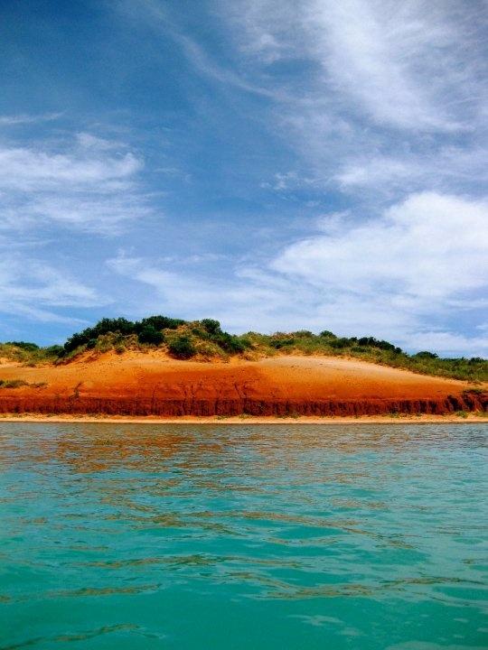 Indian Ocean between Mangrove Point and Roebuck Bay