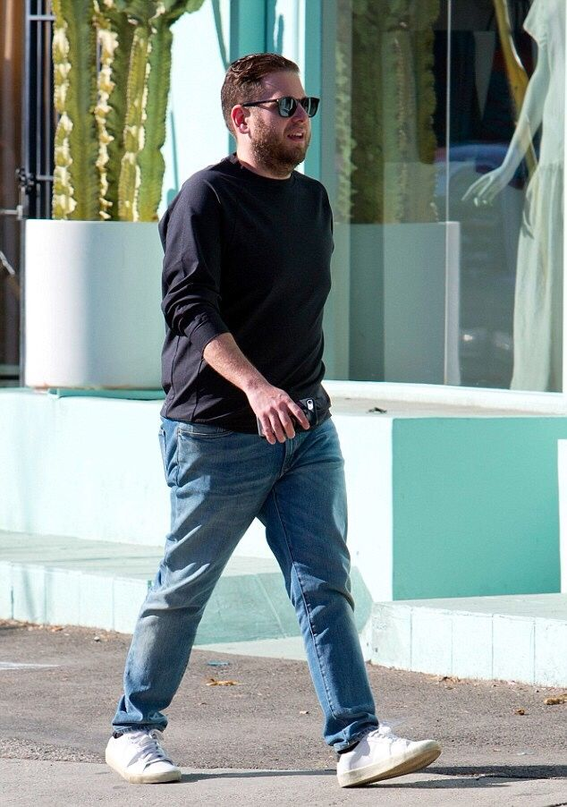 HollywoodUpdate — Jonah Hill out in LA - January 17, 2017