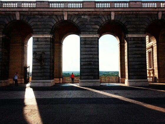 Real Palacio, Madrid #Spain #Madrid #palace #view #travel