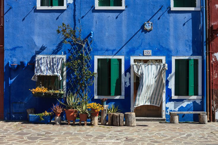 Simply Blue House by Giulio Rosso Chioso on 500px