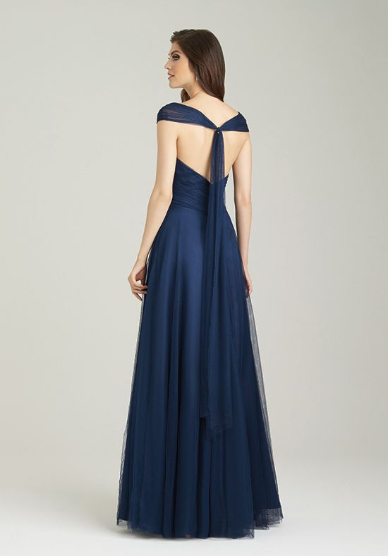 Allure Bridesmaids 1450 V-Neck Bridesmaid Dress