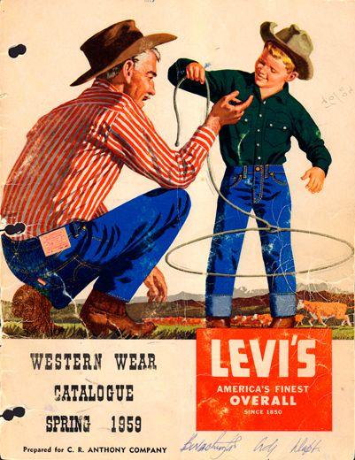 Spring 1959 Levi's Vintage