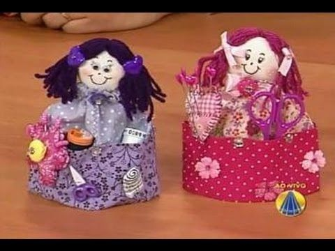 Bonequinha Costureira | Sabor de Vida - 08 de Maio de 2012.........cepli bebek