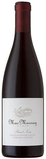 MacMurray Ranch Pinot Noir Russian River Sonoma County 2012 750ml