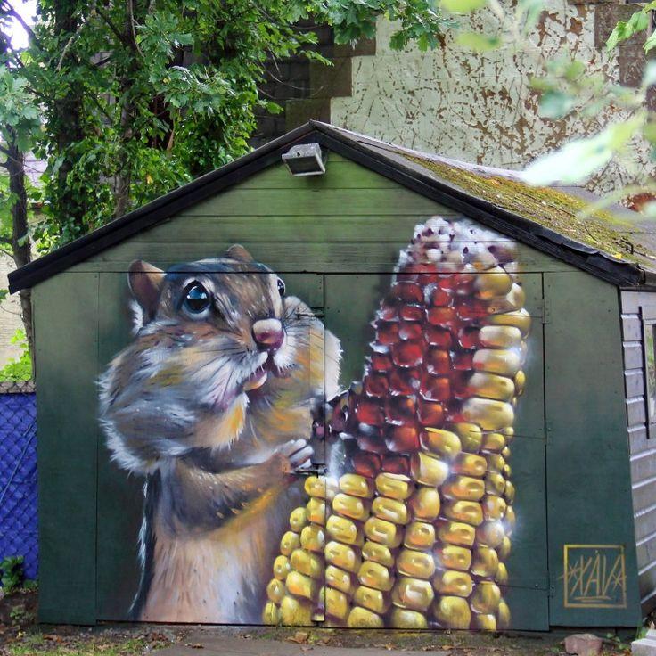Le Street Art étonnant de XAV                                                                                                                                                                                 Plus
