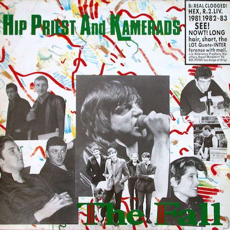 Hip Priest: The Fall's Mark E. Smith used to do tarot card readings for drugs | Dangerous Minds