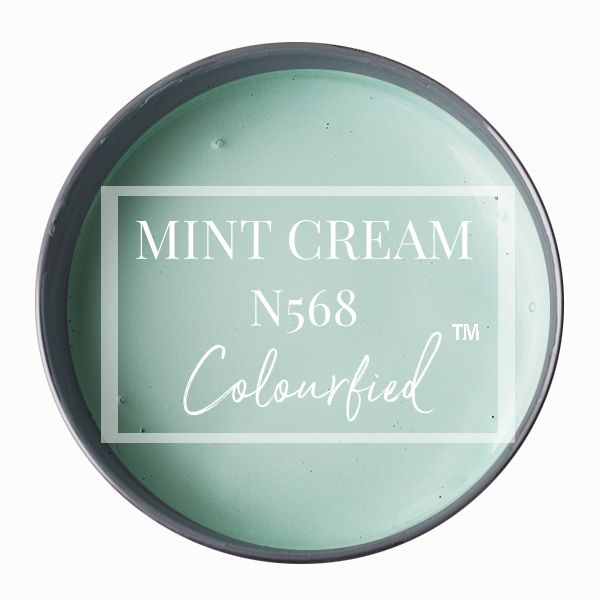 Colourfied's new colour - Mint Cream
