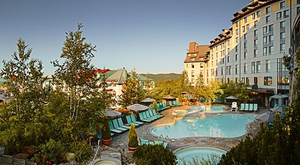 Fairmont Tremblant Mont Tremblant Hotels Mont Tremblant Canada Forbes Travel Guide Hotel Scandinavian Baths Outdoor Pool