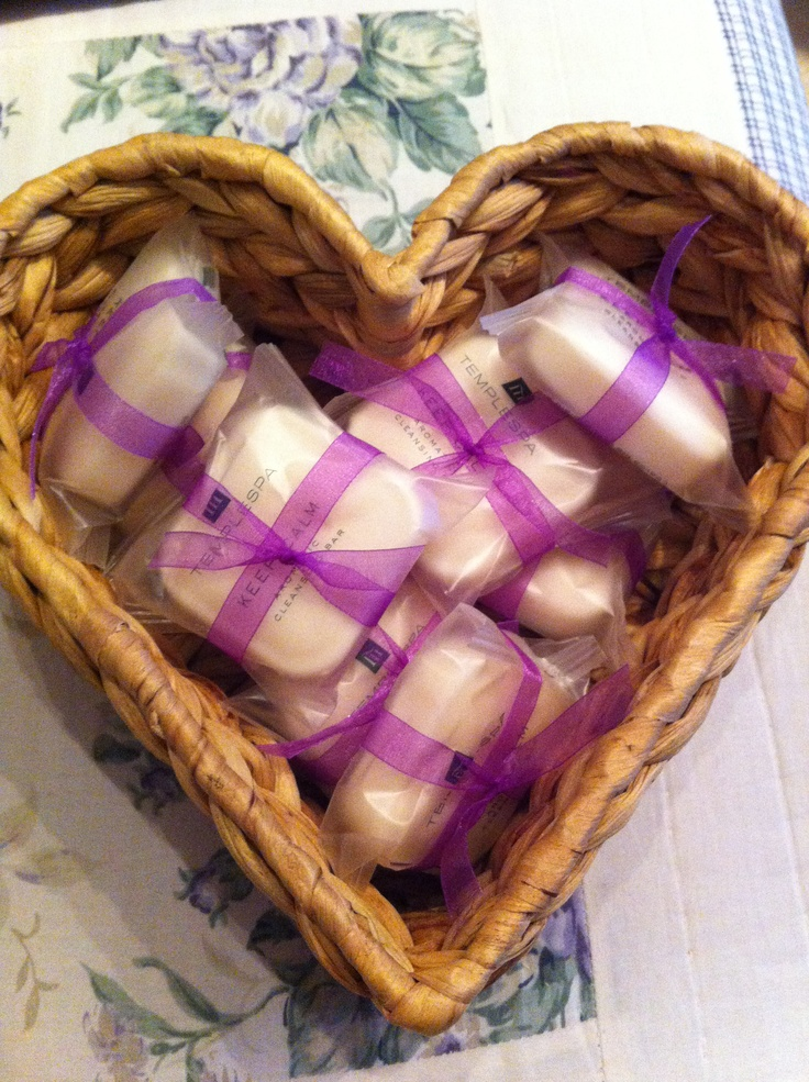 Some little Temple Spa goodies I've made for my lovely spa ladies :-)