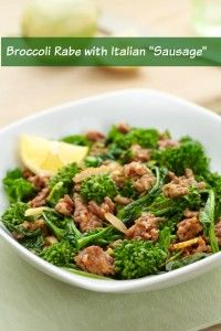 This Blood Sugar Solution 10 Day Detox Diet recipe for Broccoli Rabe with Hot Italian Sausage is delicious served hot or cold, and may be enjoyed as a hearty snack, too.