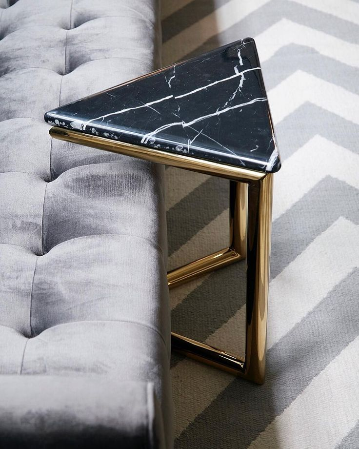"4,940 Likes, 44 Comments - Jonathan Adler (@jonathanadler) on Instagram: ""Angular beauty. Shop our Ultra Triangle Accent Table via link in profile."""