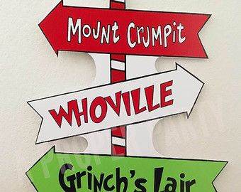 Grinch who stole Christmas Whoville Whoville by aPROPerParty