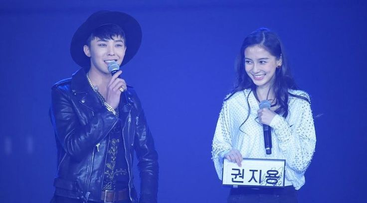 G-Dragon made a special appearance on Chinese variety show Hurry Up, Brother as a surprise for his fangirl Angelababy!