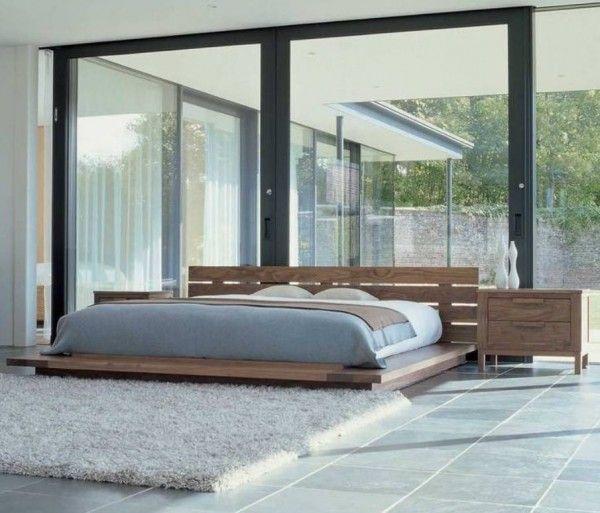 M s de 25 ideas incre bles sobre cama japonesa en for Dormitorio zen oriental