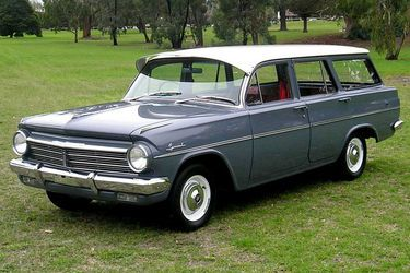 1964 Holden EH Special Station Wagon. Manufactured in Australia by General Motors Holden in Melbourne, Australia.