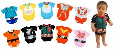 Baby Cosplay Rompers? I Kid You Not!