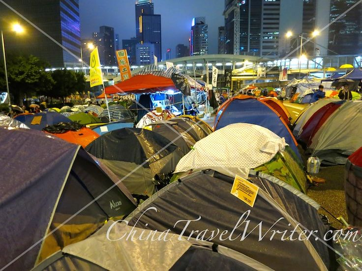 The #OccupyHK camp in Admiralty. #OccupyCentral #OccupyHongKong #UmbrellaRevoltuion