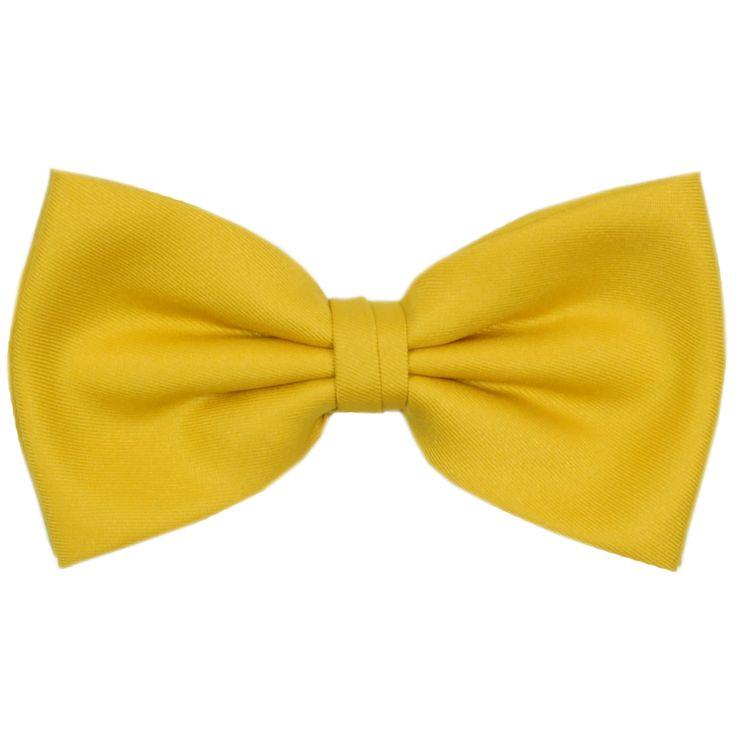 Bow tie yellow - WE LOVE TIES
