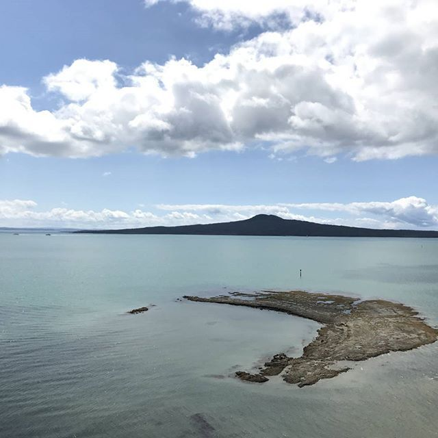 Best spot in Auckland for a view across to Rangitoto. #auckland #rangitoto #achillespoint #stheliers #cloudtravelnz #nzmustdo #newzealand