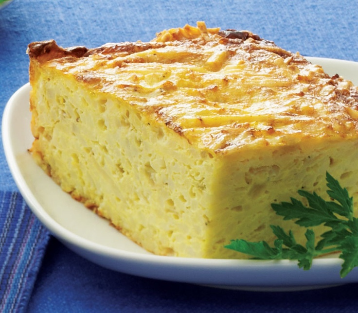 #Passover Recipes | Potato Kugel with Fried Shallots