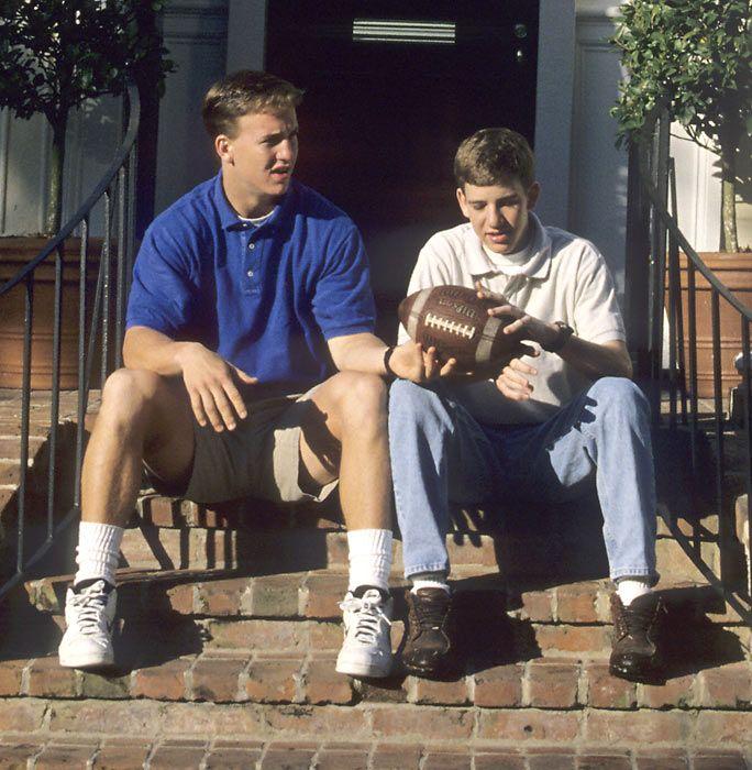 Peyton Manning & Eli Manning                                                                                                                                                                                 More