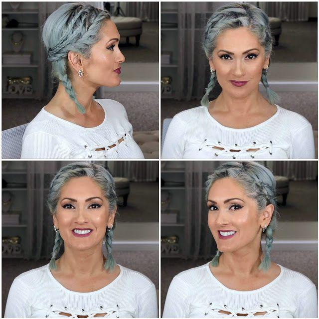 15 Easy Short Hairstyles No Heat Video Tutorial Short Hair Styles Easy Short Hair Styles Short Hair Tutorial